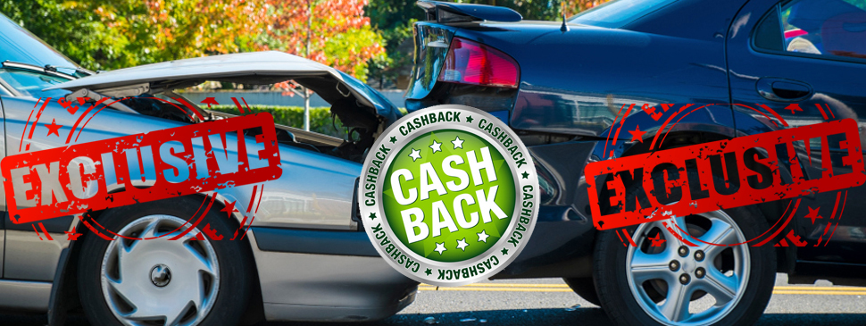 car accident claim cash back