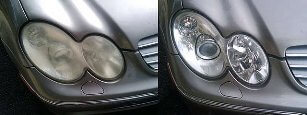 headlight restoration polishing