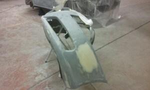 bumper scratch repair
