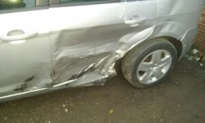 ford focus chassiss accident damage repair