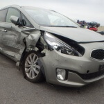 Car Crash Repair of Kia Carens